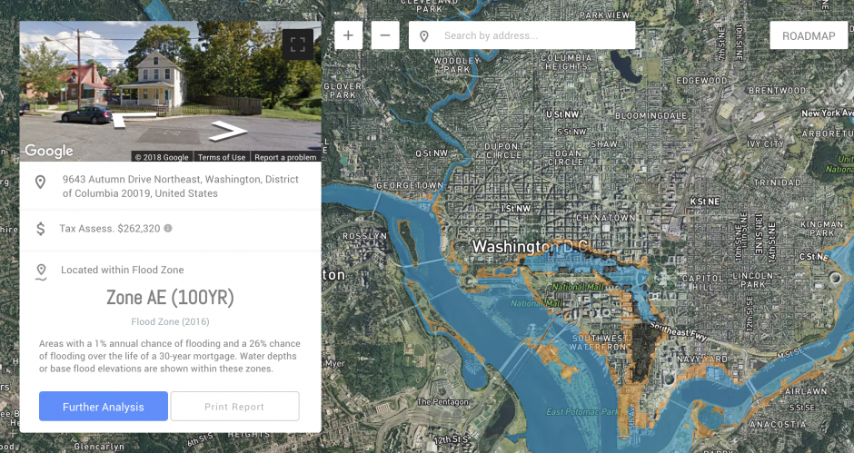 DC Flood Risk Tool