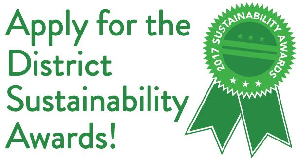 Apply for the District Sustainability Awards!