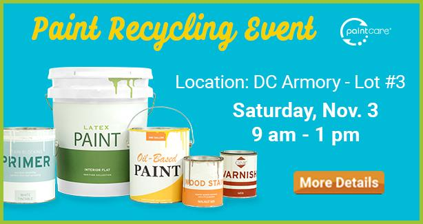 Paint Recycling Event