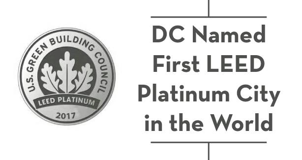 DC Named First LEED Platinum City in the World