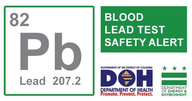 Blood Lead Test Safety Alert