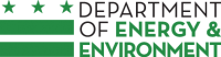 logo for Department of Energy and Environment