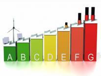 bar graph illustration with energy alternatives