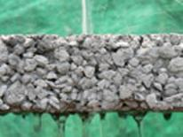 Example of pervious pavers